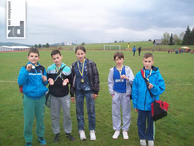 Photo of Novi uspjesi mladih atletičara