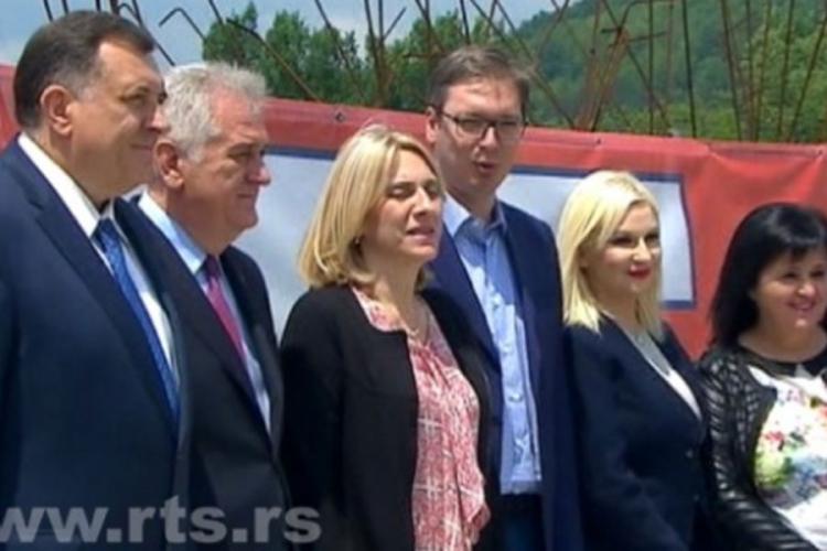 """Photo of Susret lidera Srbije i RS na mostu """"Bratoljub"""""""