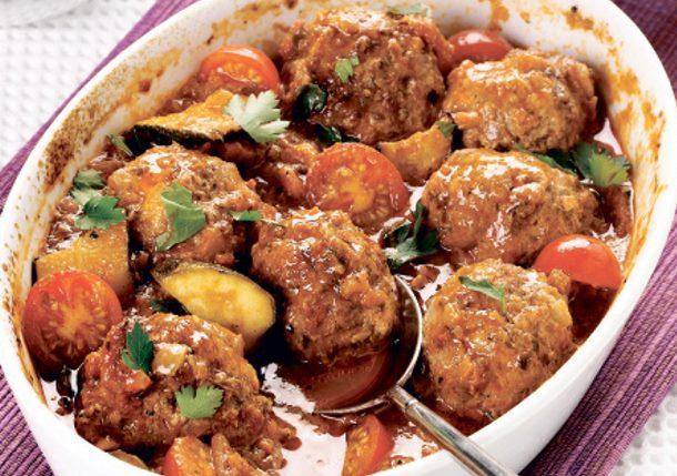 Recept dana : Zapečene ćufte u ljutom paradajz sosu