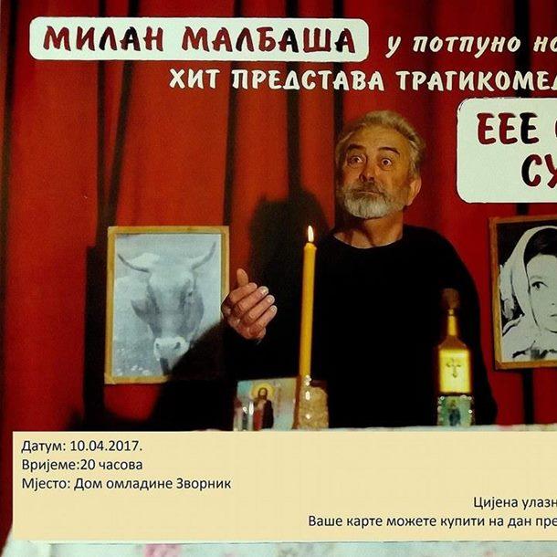 "Photo of Monodrama ""Eee sudbino, sudbino"" pred zvorničkom publikom"