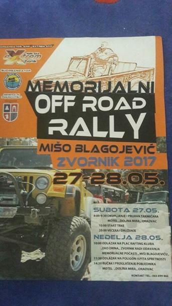 """Photo of Posljednjeg vikenda u maju memorijalni Off road rally """"Mišo Blagojević"""""""