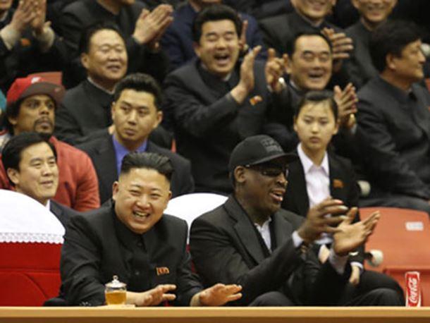Photo of Rodman poklonio Kin Džong Unu Trampovu knjigu