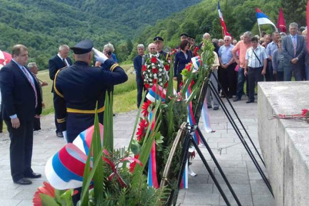 Photo of Tjentište: Obilježavanje 74 godišnjice Bitke na Sutjesci