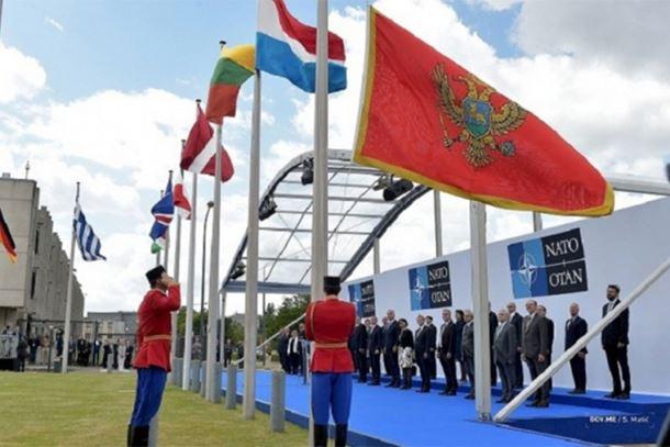 Photo of Na ceremoniji prijema u NATO podignuta pogrešna zastava Crne Gore