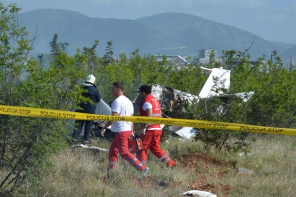 Završena istraga o avionskoj nesreći u Mostaru: Pilot ipak nije doživio srčani udar?