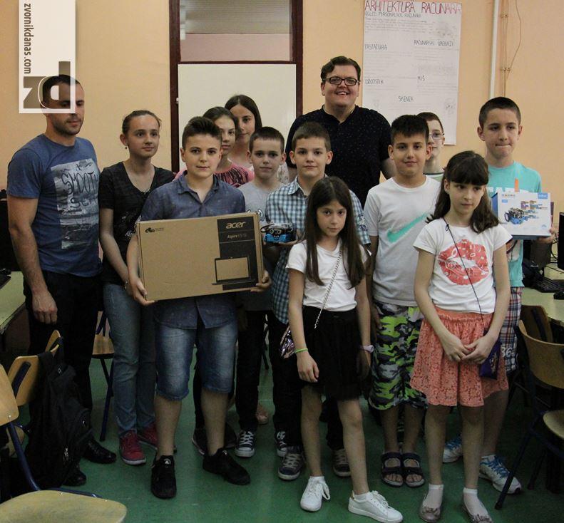 Photo of Zvornički osnovci osvojili nagradu iz robotike