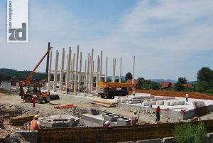 Gradilište nove fabrike koju Zeohem gradi u Zvorniku