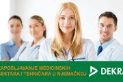 DEKRA zapošljava medicinske radnike u Njemačkoj