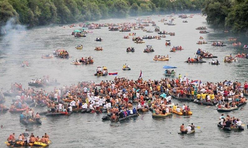 Photo of Na ovogodišnjoj Drinskoj regati učestvuje više od 20.000 ljudi