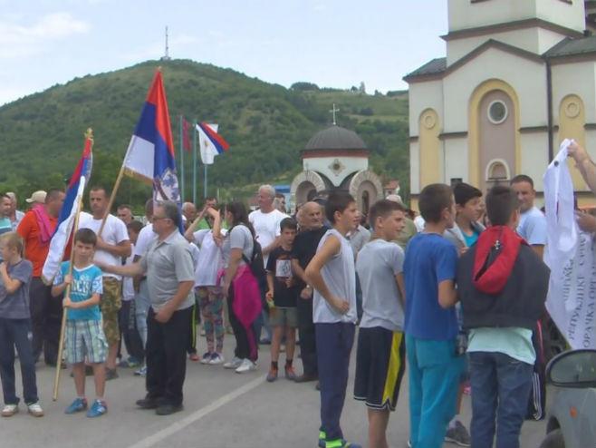 Marš Vojkovići - Ilinjača u sjećanje na odbranu srpskih naselja
