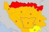Crveni meteoalarm od Prijedora do Bijeljine