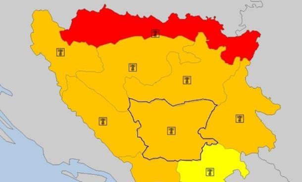 Photo of Crveni meteoalarm od Prijedora do Bijeljine