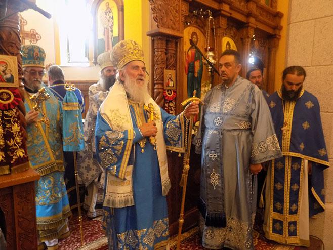 Photo of Patrijarh Irinej stigao u Bosanski Petrovac