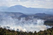 Požar iz Crne Gore proširio se noćas na Hrvatsku
