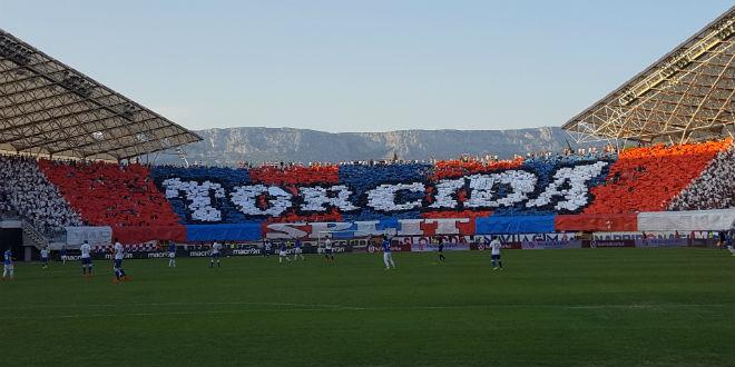 """Photo of Kazna """"Hajduku"""" zbog skandiranja """"Ubij Srbina"""""""