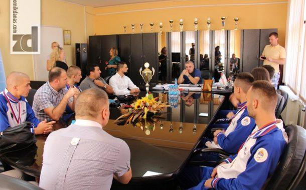 Gradonačelnik čestitao bokserima na uspjehu
