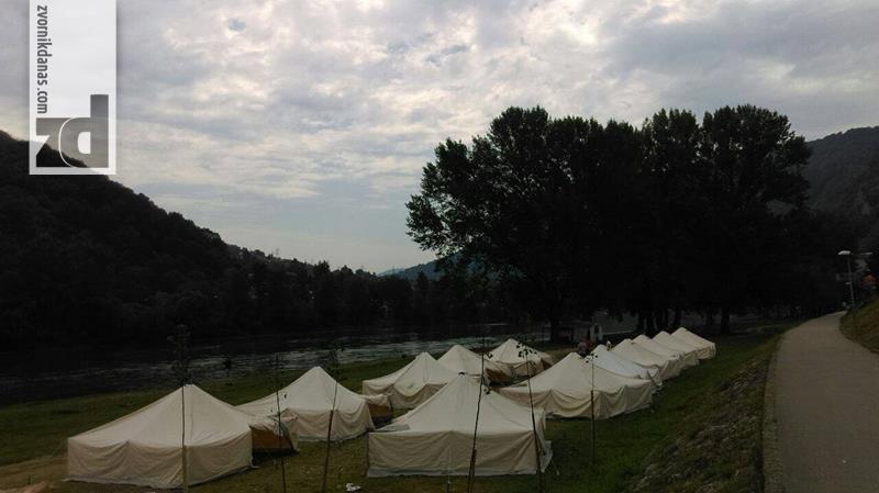 Photo of Omladinski kamp podignut na gradskoj plaži u Zvorniku