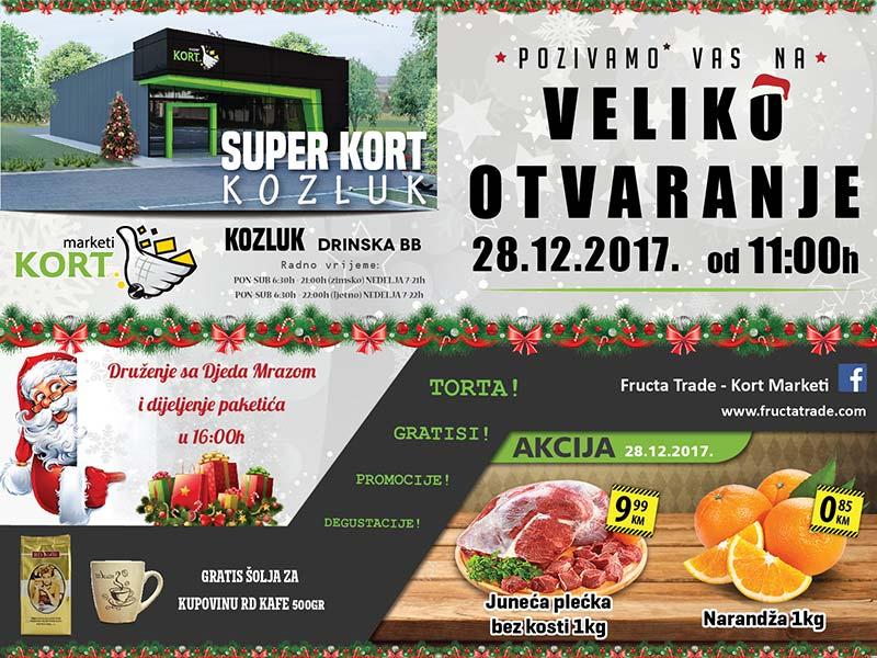 Kort marketi u Kozluku