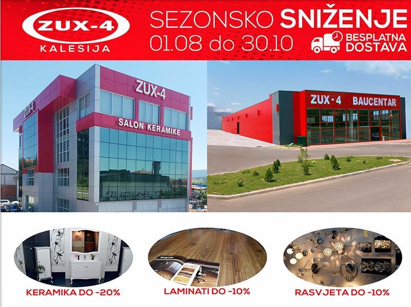 Photo of Najveće sezonsko sniženje i akcija u Zux-4 Kalesija prodajnim salonima