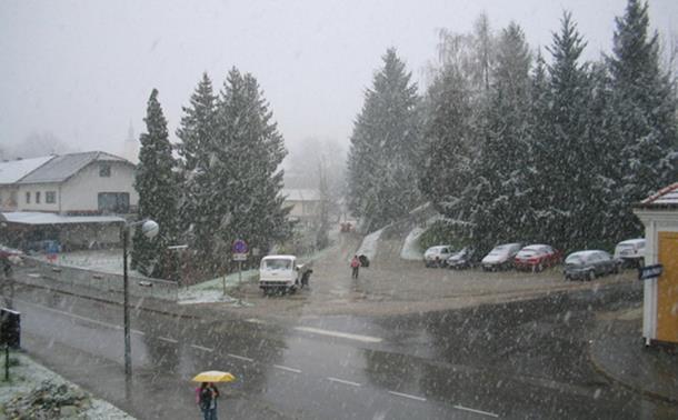 Photo of Na Romaniji pao prvi snijeg