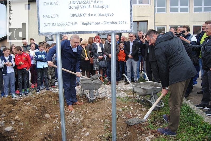 Photo of Počela izgradnja fiskulturne sale za područnu školu u Križevićima