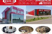 Zux-4 nudi idealana rješenja za fasade