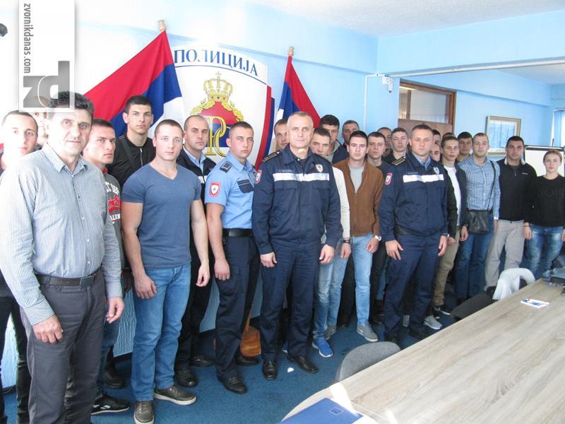 Photo of Prijem novih policijskih službenika kod načelnika PU Zvornik