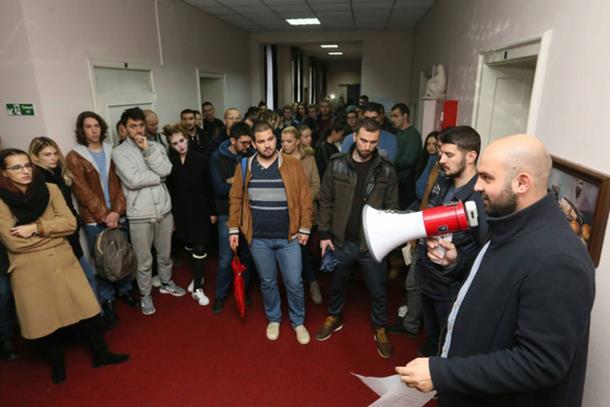 Studenti 'zauzeli' rektorat u Banjaluci: Traže da se ispitaju i seksualne afere na Univerzitetu