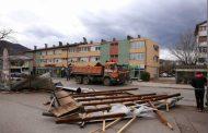 Vjetar rušio stabla po Banjaluci i Zvorniku, vanredna situacija u Kneževu