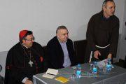 Kardinal Vinko Puljić u posjeti Zvorniku