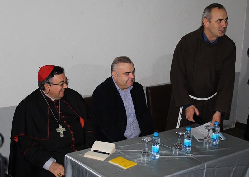 Photo of Kardinal Vinko Puljić u posjeti Zvorniku