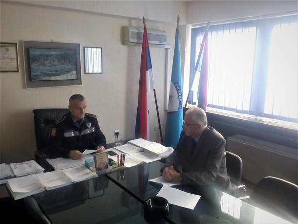 Održan sastanak načelnika Policijske uprave Zvornik i glavnog tužioca Okružnog javog tužilaštva Istočno Sarajevo