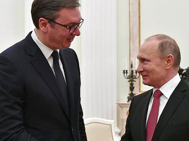 Vučić: Putin potvrdio da je Rusija spremna da se uključi u dijalog