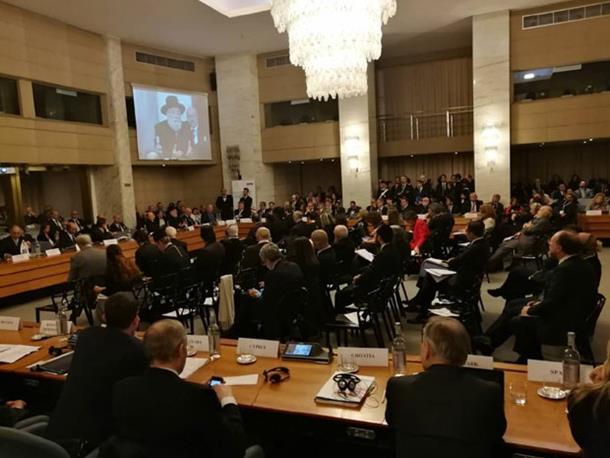 Photo of Hrvati napustili salu zbog govora rabina
