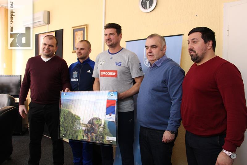Photo of Gradonačelnik upriličio prijem za Vanju Grbića