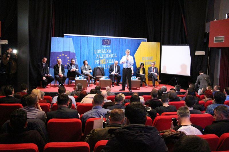 """Photo of U Zvorniku održan forum """"EU u posjeti lokalnim zajednicama"""""""