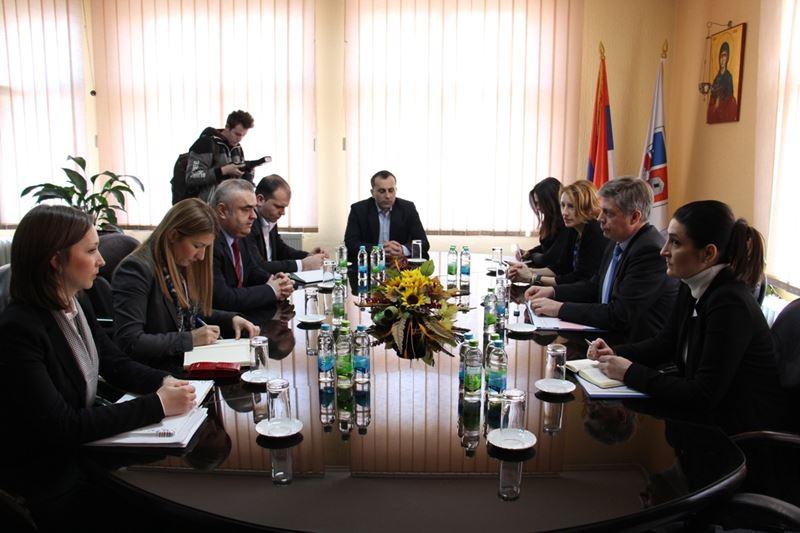 Photo of Vigemark i Stevanović razgovarali danas u Zvorniku