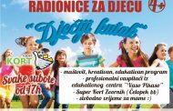 """Super Kort Zvornik organizuje besplatne dječije kreativne radionice """"Dječiji kutak"""" svake subote"""