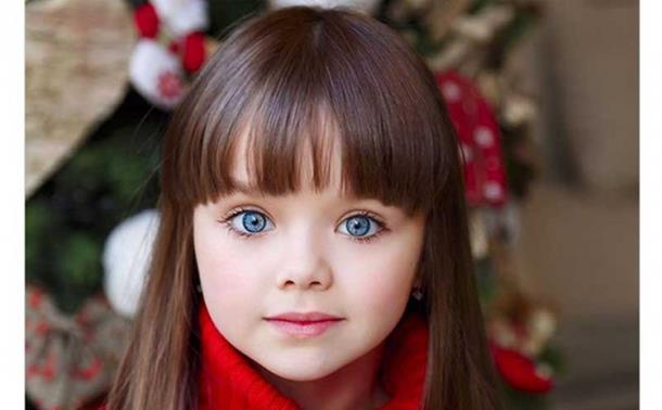 Najljepša djevojčica na svijetu šestogodišnja Ruskinja
