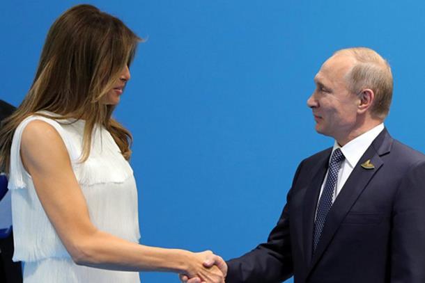 Putin priznao da je slagao Melaniju Tramp