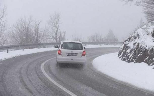 Vozači oprez - klizavi kolovozi