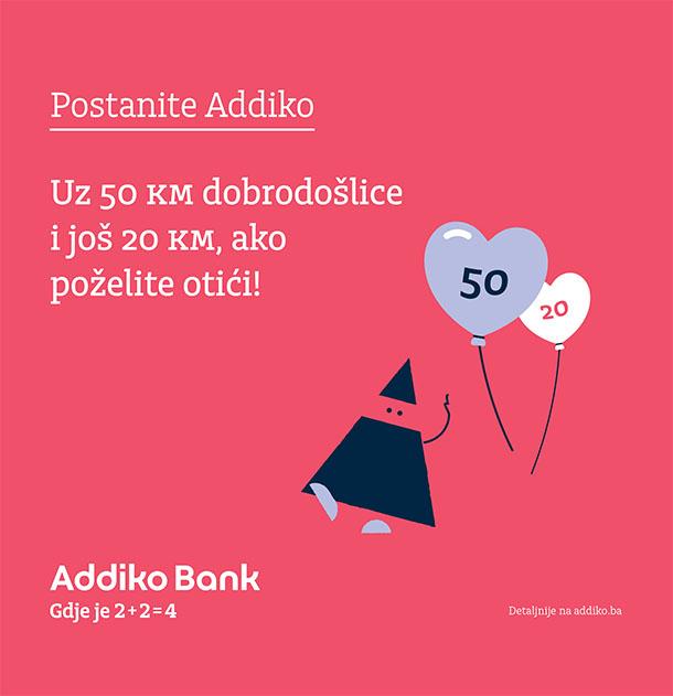 Postanite Addiko i uživajte u inovativnoj ponudi Addiko banke