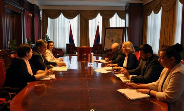 Cvijanović i Vigemark: Reforme Vlade Srpske daju pozitivne rezultate