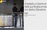 Državljanin BiH pokušao prebaciti arsenal oružja u Barselonu