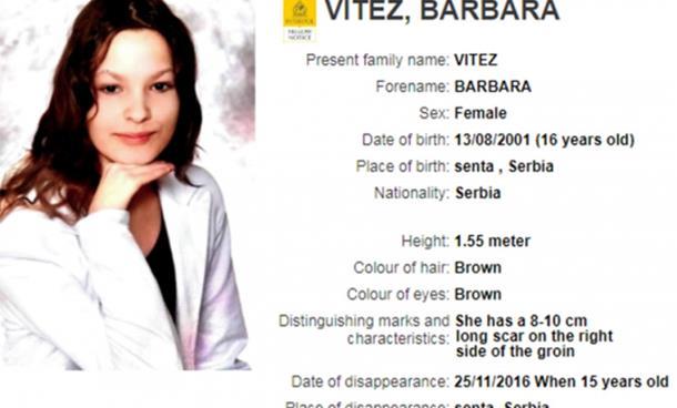 Interpol traga za djevojčicom iz Srbije