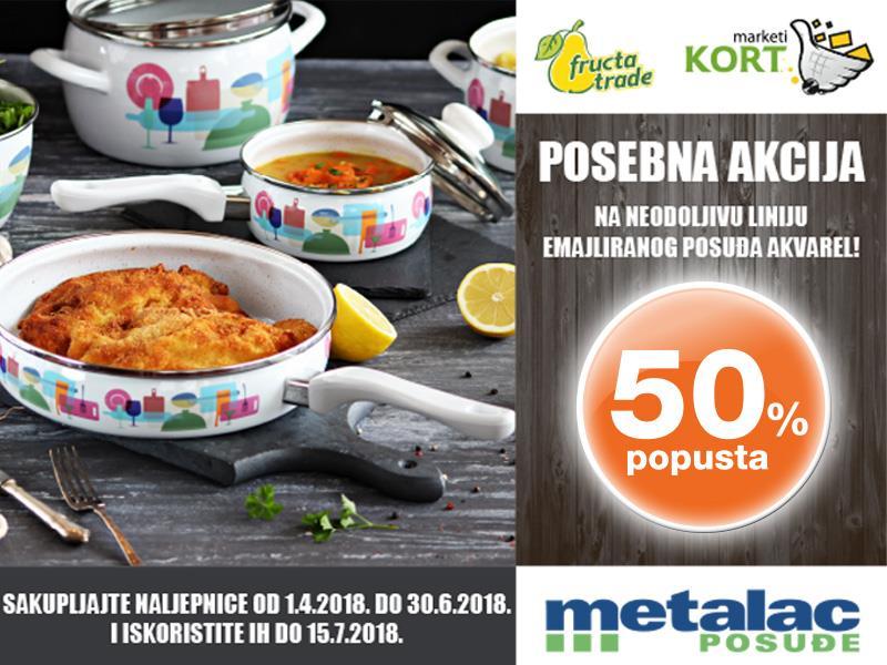 Photo of Kort marketi nagrađuju vjernost svojih kupaca sa posebnom ponudom Metalac posuđa