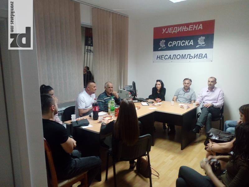 Photo of Na inicjativnom odboru izabrano rukovodstvo gradske organizacije Ujedinjene Srpske u Zvorniku