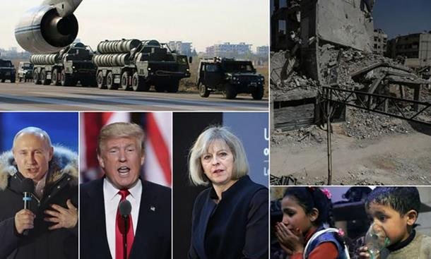 Photo of TENZIJE OKO SIRIJE NE JENJAVAJU Rusi razmještaju vojsku, američki izviđački avioni blizu Sirije
