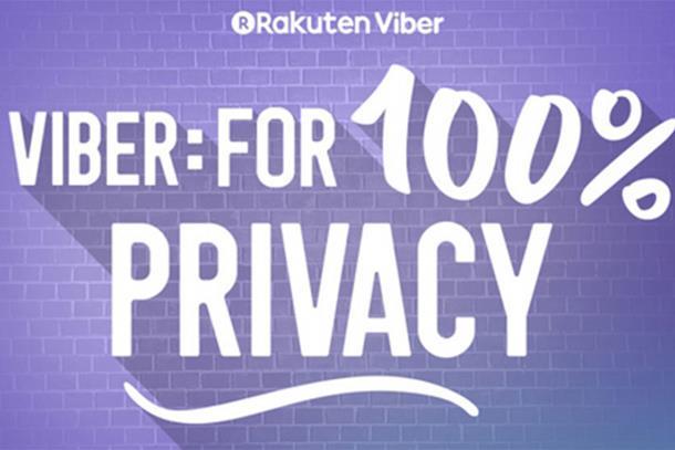 Viber: 100% privatnosti i povjerenja