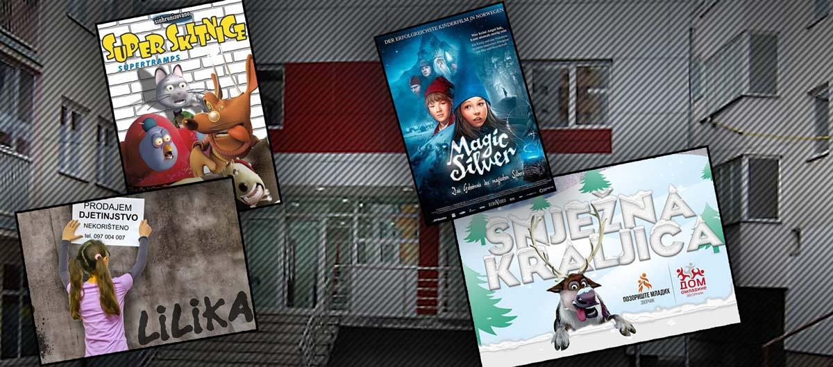 Photo of Mini festival filmova i predstava na pokon za sve prvake i đake